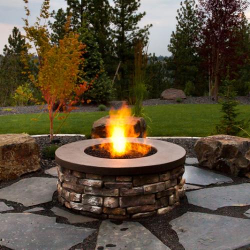 Fire Pit Landscaping Spokane Coeur D'Alene