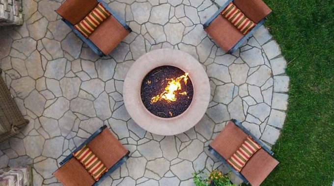 Let's turn up the heat with a new fire pit!