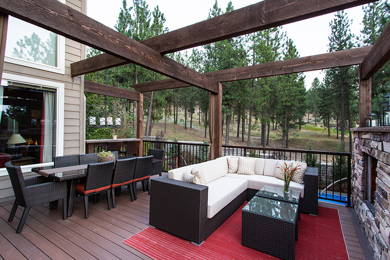 Captivating Whether Itu0027s A Traditional Wood Deck Or A State Of The Art PVC Product,  Coppercreeku0027s Skilled Artisans Can Build A Deck That Seamlessly Connects To  Your ...